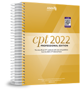 CPT Professional 2022 and CPT QuickRef app bundle