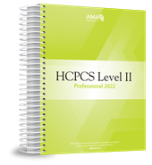 HCPCS Level II 2022 Professional Edition